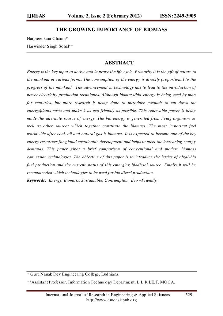 IJREAS                 Volume 2, Issue 2 (February 2012)                     ISSN: 2249-3905                THE GROWING IM...