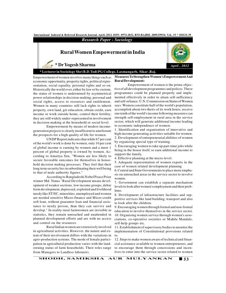 international indexed referred research journal