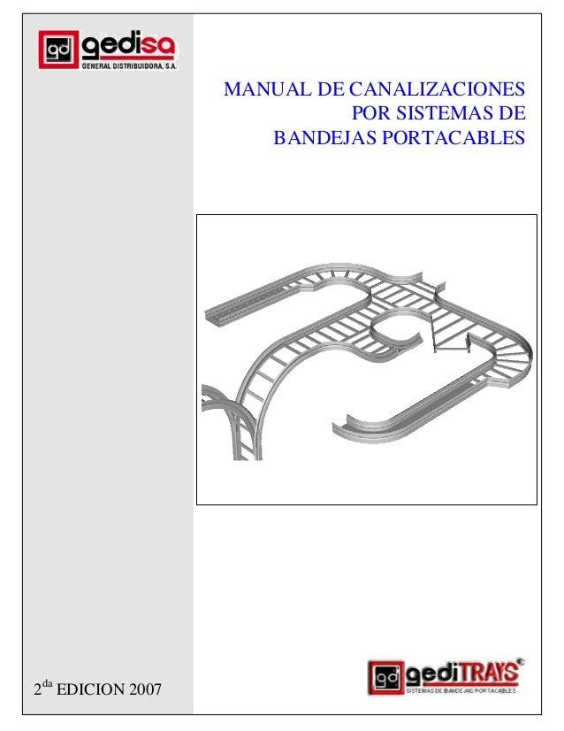 MANUAL DE CANALIZACIONES                             POR SISTEMAS DE                      BANDEJAS PORTACABLES2da EDICION ...