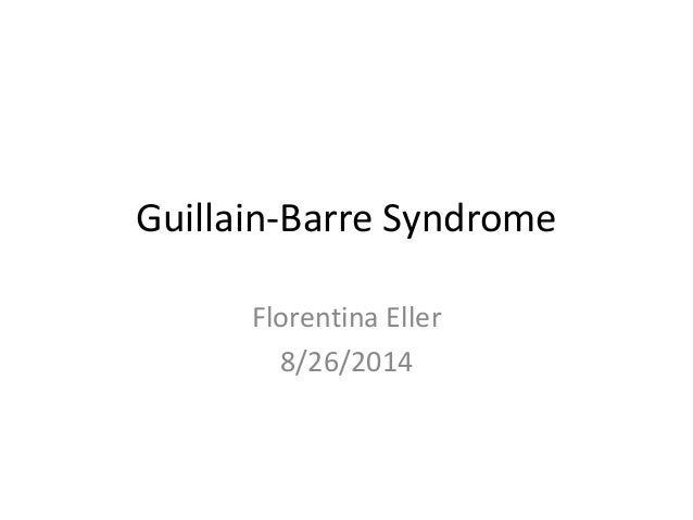 guillain barre syndrome pdf 2014