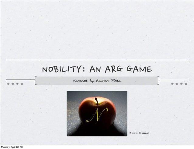 532 nobility final presentation