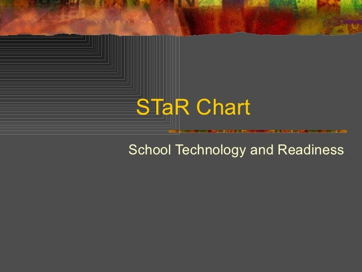 STaR Chart <ul><ul><li>School Technology and Readiness </li></ul></ul>