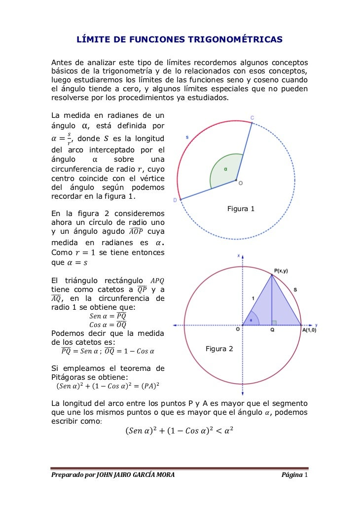 limite-de-funciones-trigonometricas