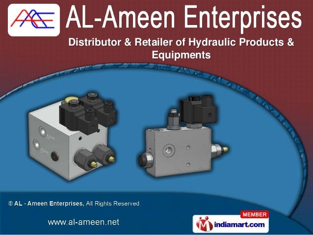 Distributor & Retailer of Hydraulic Products &                 Equipments