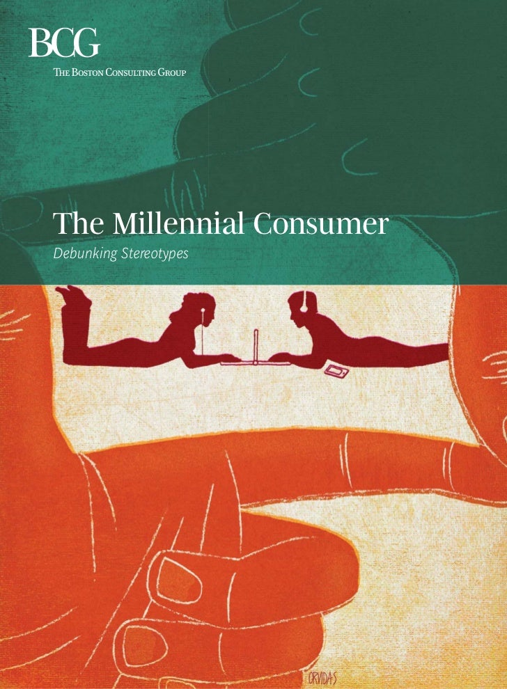 The Millennial Consumer (Boston Consulting Group) - AB12