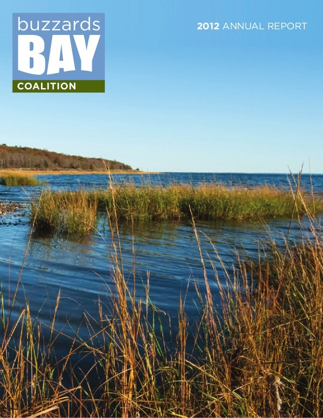 Buzzards Bay Coalition 2012 Annual Report