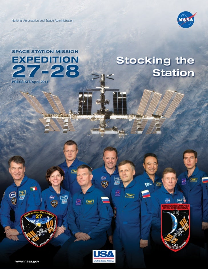 Press Kit for the Expedition 27/28 Mission to the International Space Station