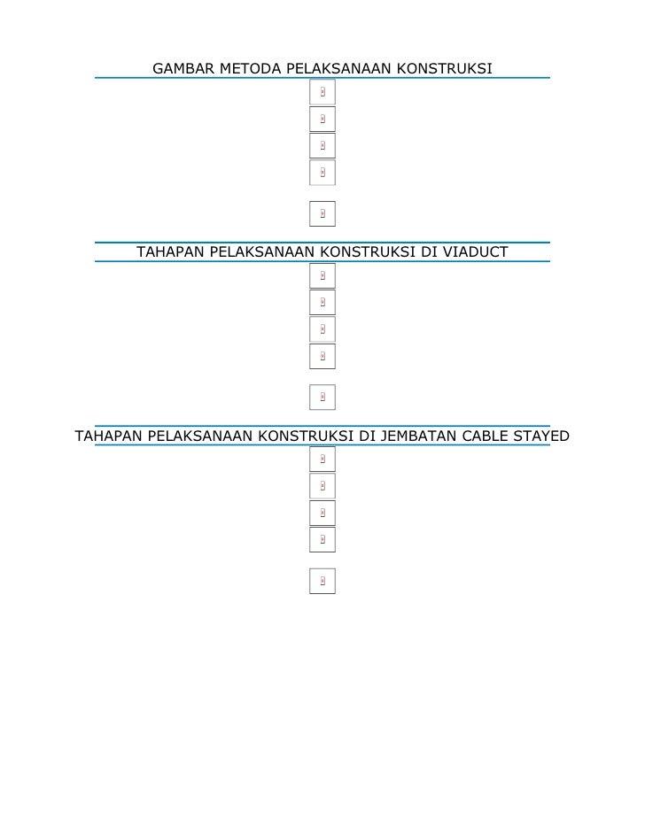 GAMBAR METODA PELAKSANAAN KONSTRUKSI           TAHAPAN PELAKSANAAN KONSTRUKSI DI VIADUCT     TAHAPAN PELAKSANAAN KONSTRUKS...