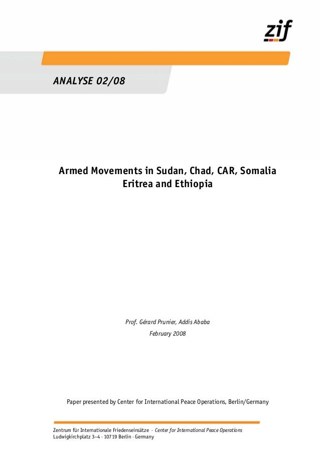 ~v~e Armed movements in_sudan_chad_car_somalia_eritrea_and_ethiopia