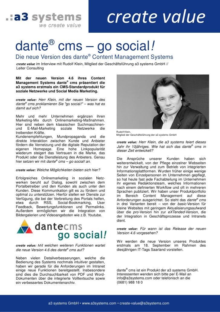Interview Dante Cms 4 6