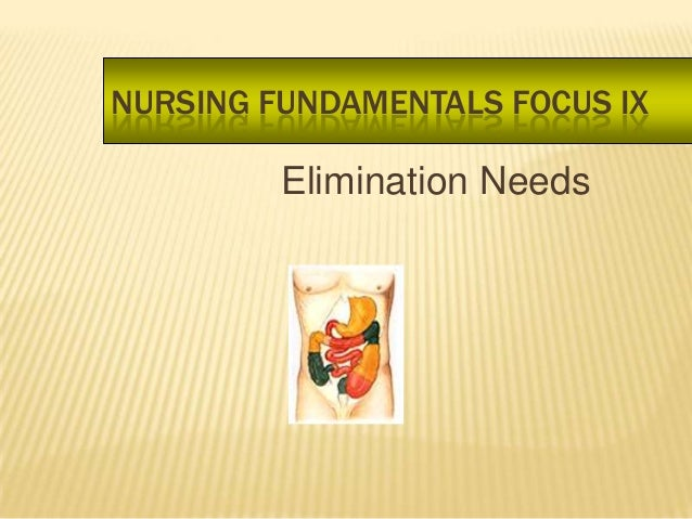 elimination, nursing