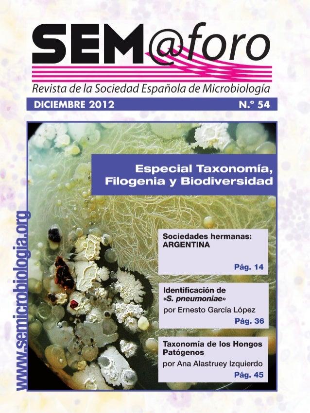 www.semicrobiologia.orgwww.semicrobiologia.org SUMARIO Fotografía de la portada Colonias aisladas en agar mediante el uso ...
