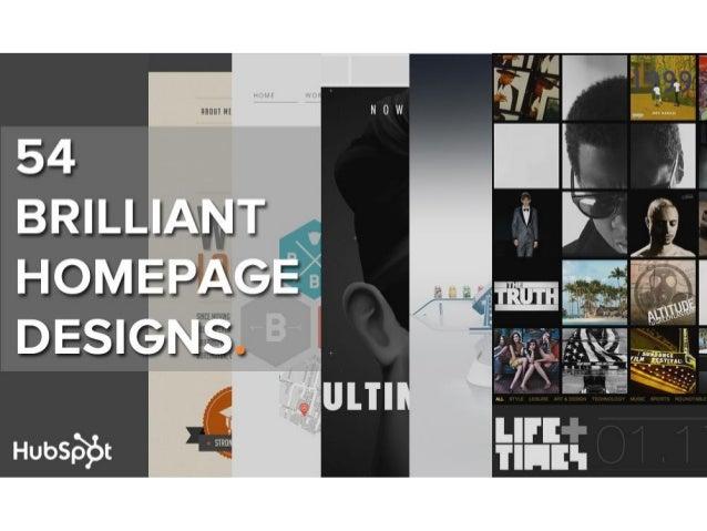 54 examples-of-brilliant-homepage-design