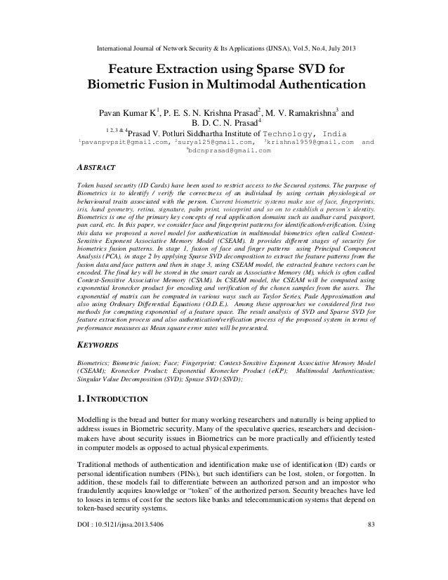 International Journal of Network Security & Its Applications (IJNSA), Vol.5, No.4, July 2013 DOI : 10.5121/ijnsa.2013.5406...