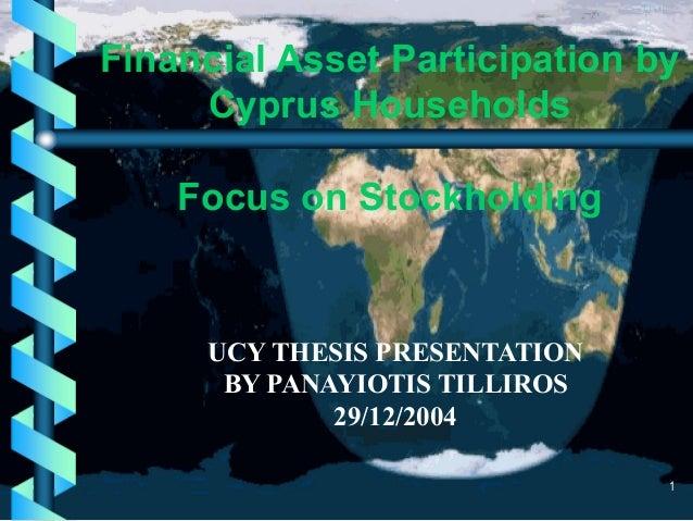 m.sc. thesis presentation