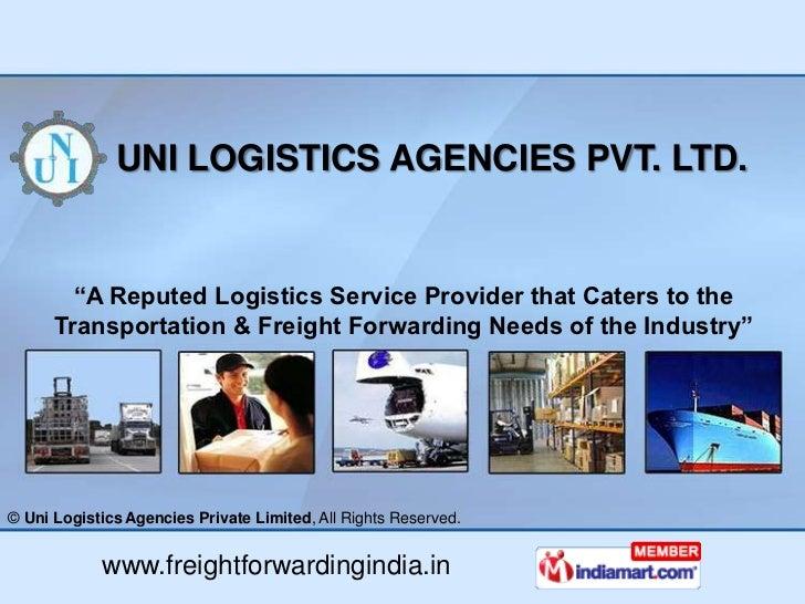 Logistic Ser... Reverse Logistics Pvt Ltd