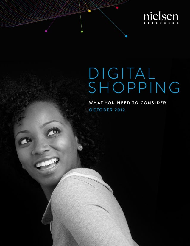 Digital Shopping Statistics 2012