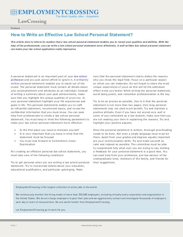 law school personal statements canada Writing the law school personal statement print resources for writing personal statements: 101 law school personal statements that made a difference by dr nancy l nolan law school essays that made a difference, 6th edition.