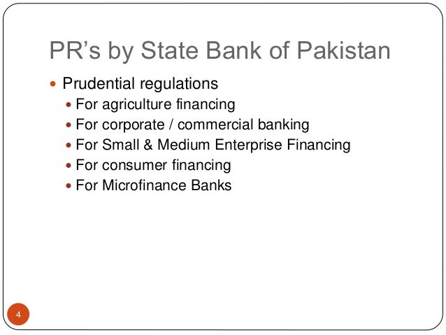 prudential regulations for small and medium