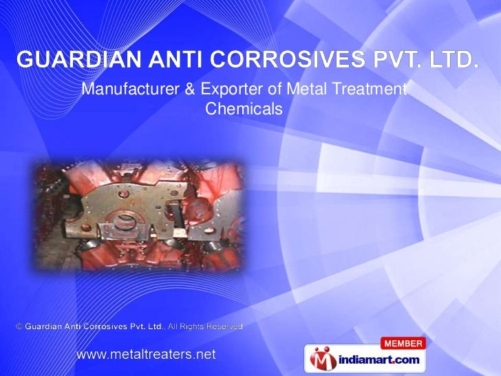 Degreasers by Guardian Anti Corrosives Pvt. Ltd. Chennai