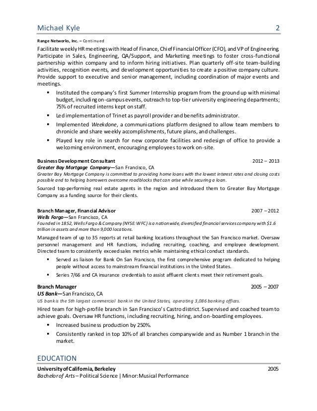 recruiting operations manager resume anyone eighth tk