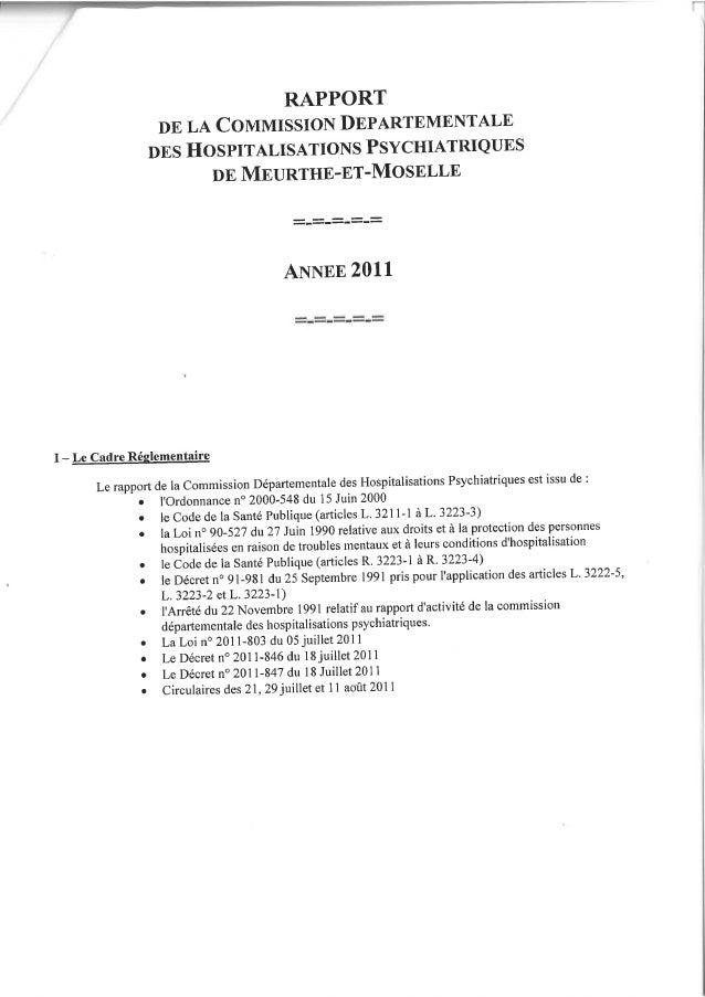 54 rapport cdsp 2011