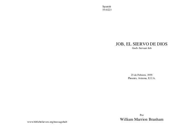 Spanish                                    55-0223                                              JOB, EL SIERVO DE DIOS    ...