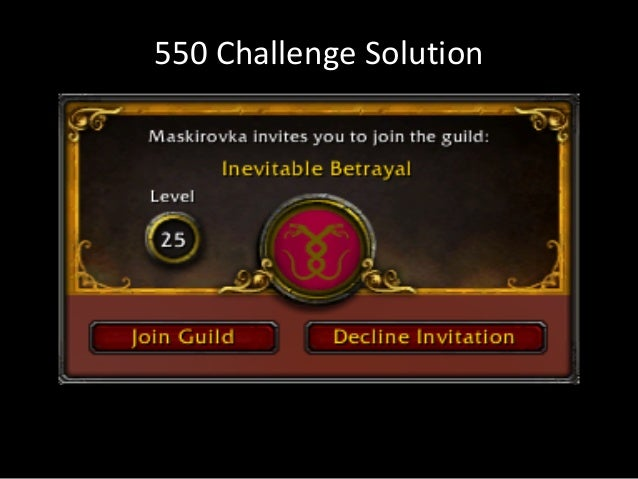 550 Challenge Solution