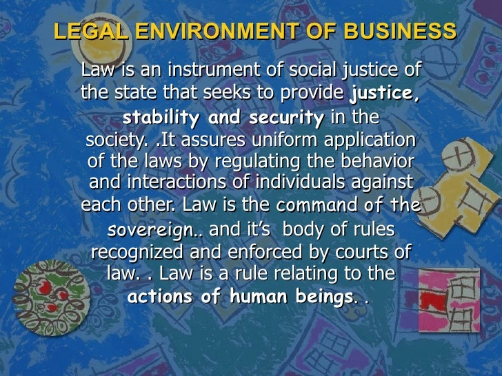 5517492 Legal Environment Of Business