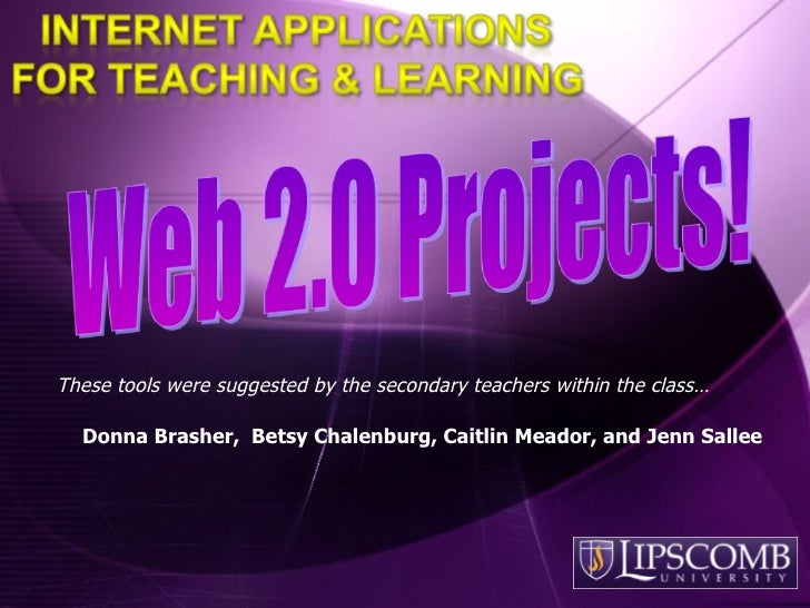 5523 Secondary Projects F09