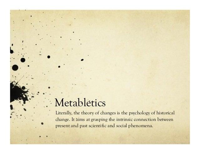 Overview of Metabletics