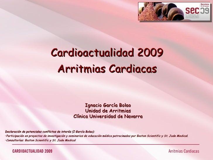 Cardio Actualidad 2009 - Arritmias Cardiacas