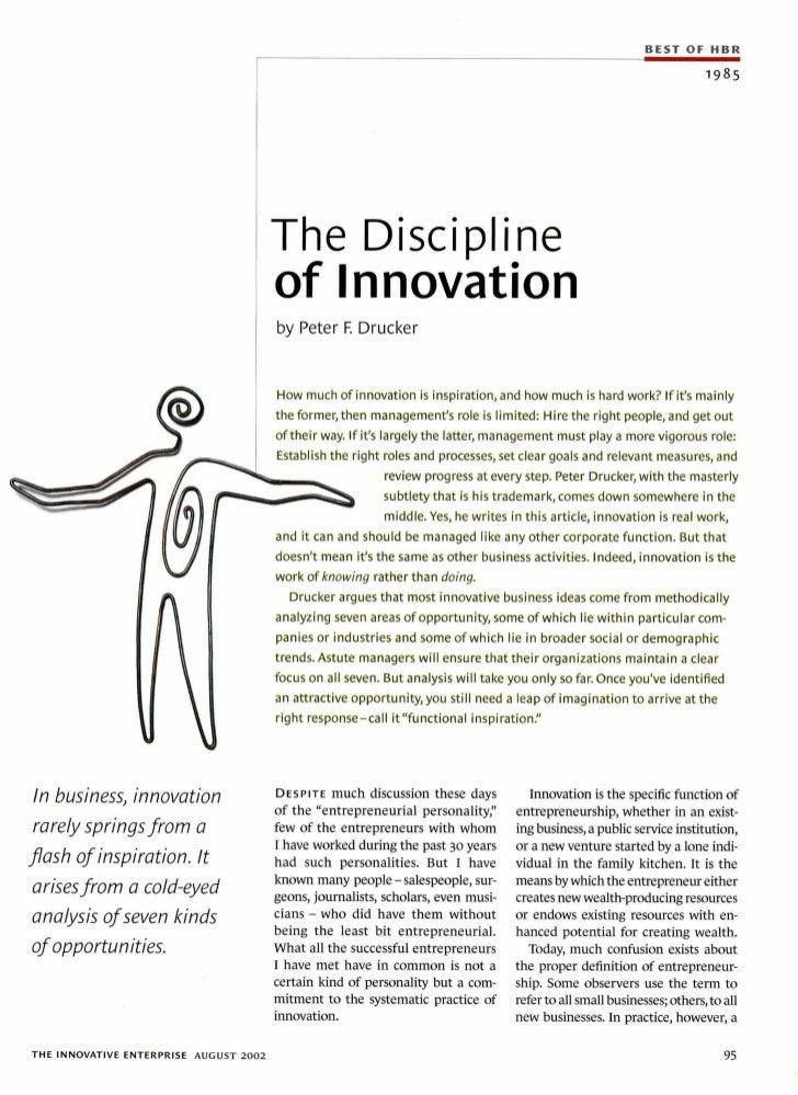 5579 creativity-the-discipline-of-innovation-by-drucker-peter