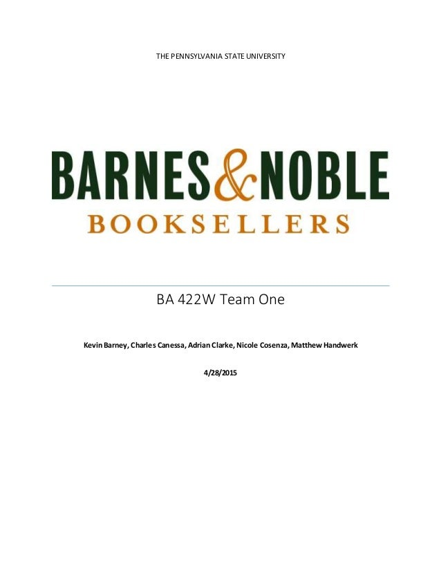 Strategic Analysis on Barnes and Noble