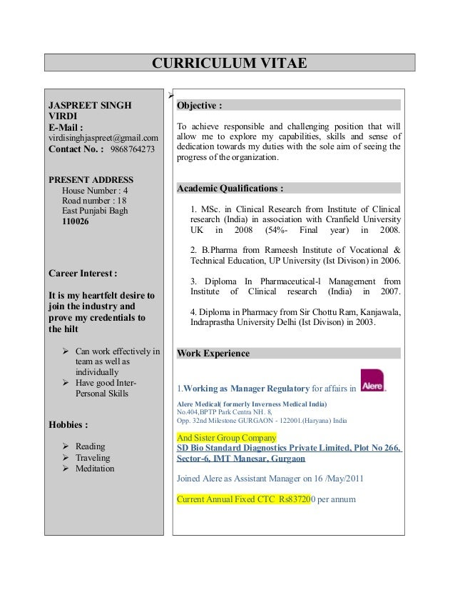 qa regulatory affairs resume security supervisor resume sample