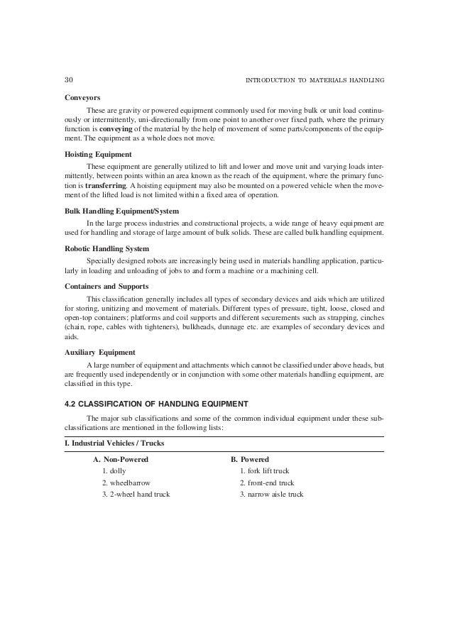 maintenance of material handling equipment pdf free