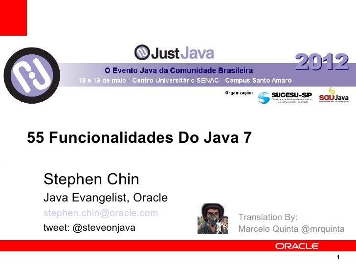 55 New Things in Java 7 - Brazil