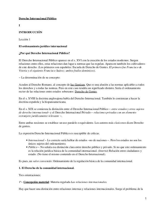 Derecho Internacional PúblicoIINTRODUCCIÓNLección 1El ordenamiento jurídico internacional¿Por qué Derecho Internacional Pú...