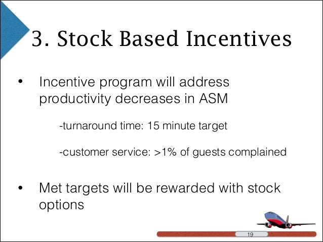 Incentive stock options merger