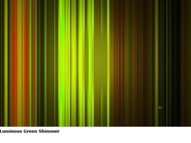 Luminous Green Sequence