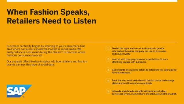 Analyzing Social Sentiment to Predict Fashion Trends