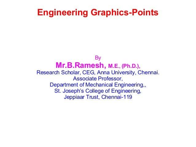 Engineering Graphics-Points