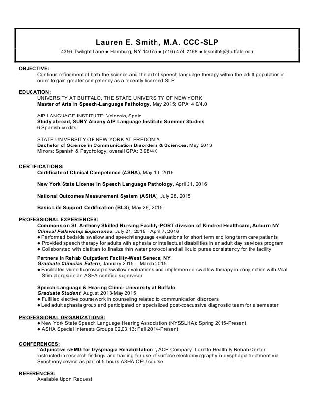 Resume Early Intervention Specialist. Pin Early Childhood ...