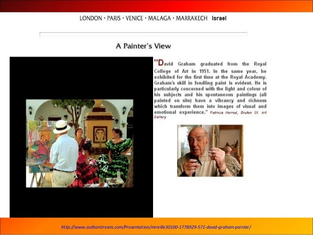 571- David Graham painter