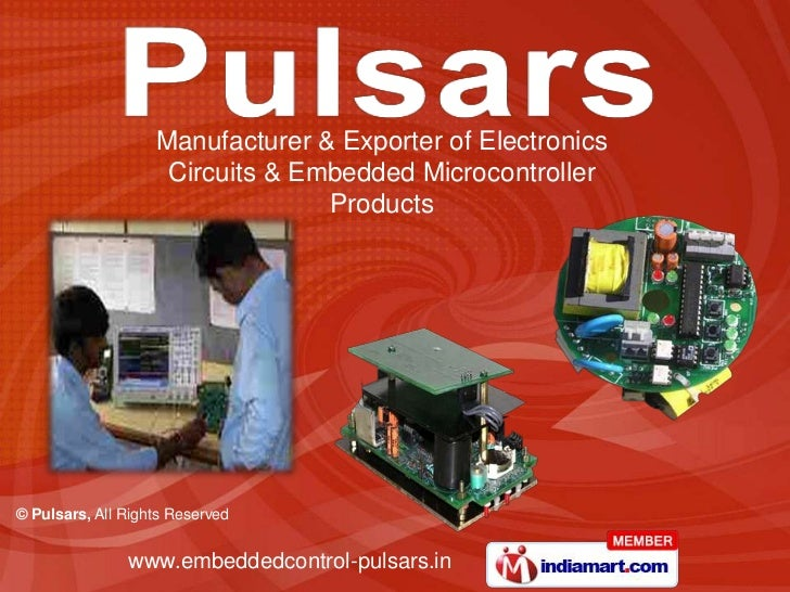 Manufacturer & Exporter of Electronics                    Circuits & Embedded Microcontroller                             ...