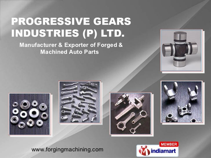 Manufacturer & Exporter of Forged & Machined Auto Parts
