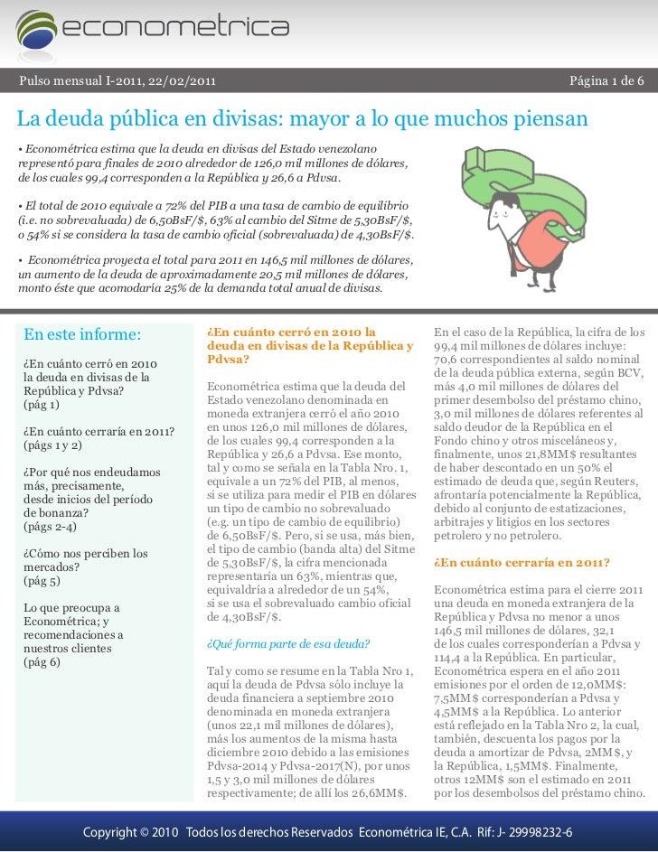 Pulso mensual I-2011, 22/02/2011                                                                            Página 1 de 6L...