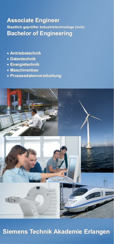 Siemens Technik Akademie ErlangenSiemens Technik Akademie Erlangen Associate EngineerAssociate Engineer Staatlich geprüfte...
