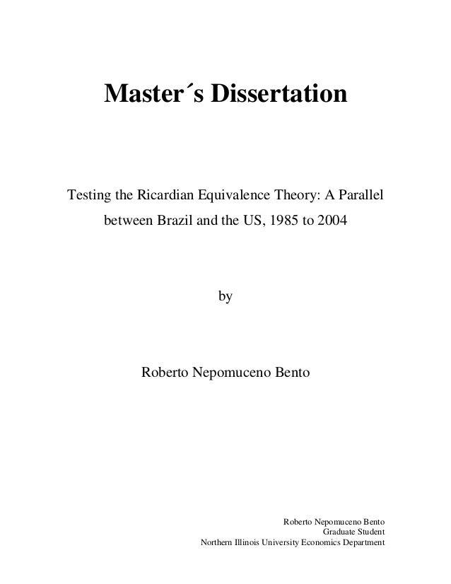 Dissertation testing