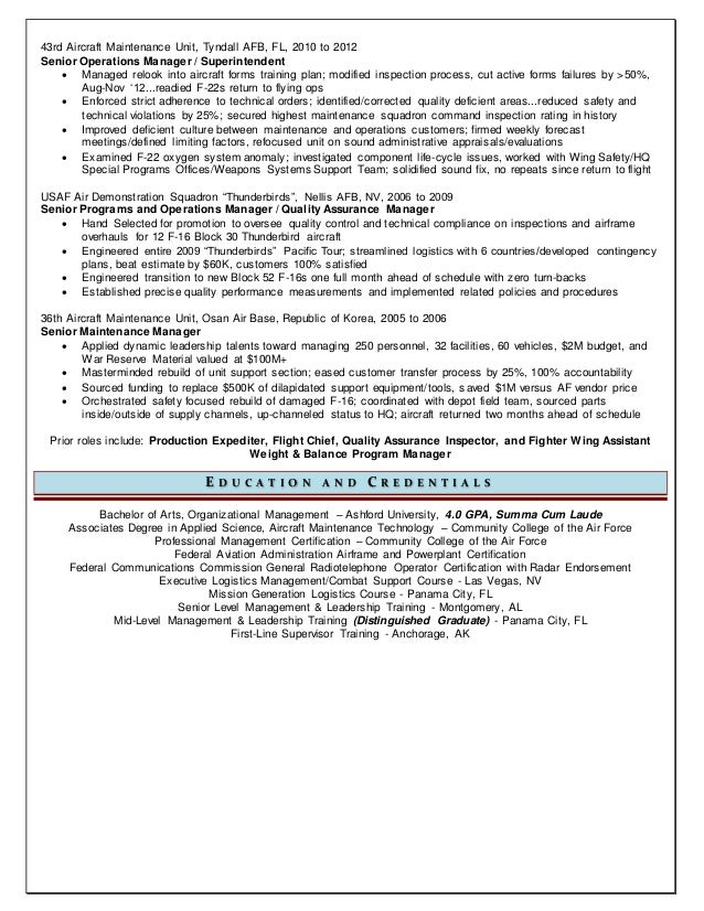 air force resume builder